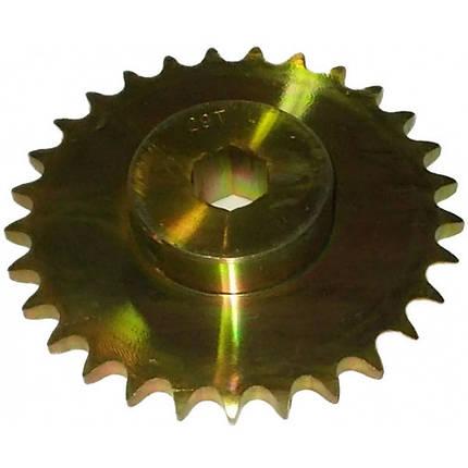 808-139C, Зірочка (6-гранник) 40B29 X 3/4 (120-246D), фото 2