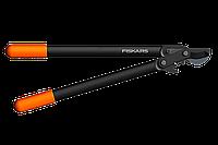 Плоскостной веткорез Fiskars с Силовым приводом II с загнутыми лезвиями (средний) (112290)