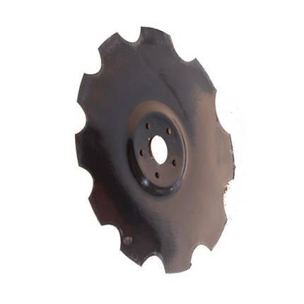 820-460C, Диск бороны (D=510 мм, 5 отверстий) (P11462/S.102545), фото 2