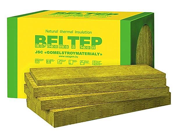 Мінеральна вата фасадна Белтеп Фасад 12 щільність 135 кг/м.куб.
