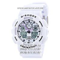 Мужские спортивные наручные часы Casio G-Shock Ga-100 White