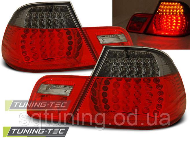 Задні ліхтарі BMW E46 04.99-03.03 COUPE RED LED SMOKE