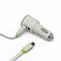 АЗУ блок Ldnio DL-C29 2 USB 5V 3.4A + кабель micro USB