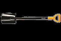 Лопата штыковая Fiskars Solid, с закругленным лезвием (131403)