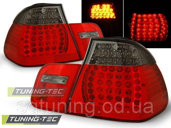 Задні ліхтарі BMW E46 09.01-03.05 SEDAN RED LED SMOKE