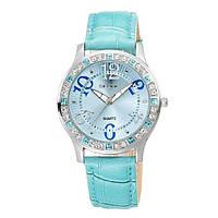 Женские наручные часы Skone Diamond Голубые