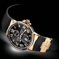 Часы наручные механические Ulysse Nardin Marine Chronometer черные