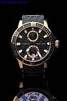 Часы механические наручные Ulysse Nardin diver Black Sea Gold