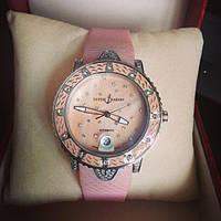 Часы механические наручные женские Ulysse Nardin Starry Night Розовые