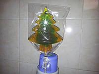 ЁЛКА новогодняя леденец на палочке 22 см в подарок