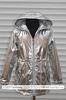 Весенняя куртка-плащ для девочек, фото 1