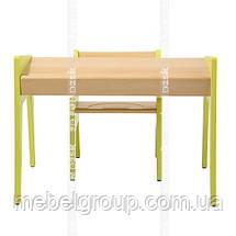 Дитячий стіл і стільчик FunDesk Omino Green, фото 3