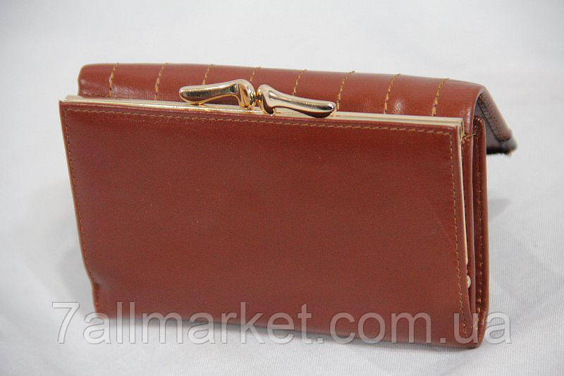 5faa752bbc7b Кошелек женский кожаный на кнопке НОВИНКА (13х8 см),4 цвета Серии