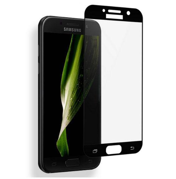 Защитное стекло для телефона INEX Glass Screen 0.33mm 2.5D Full Cover for Samsung A7 2017 Black (IN25DFCSA717B