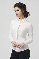 Блуза  белая 2516