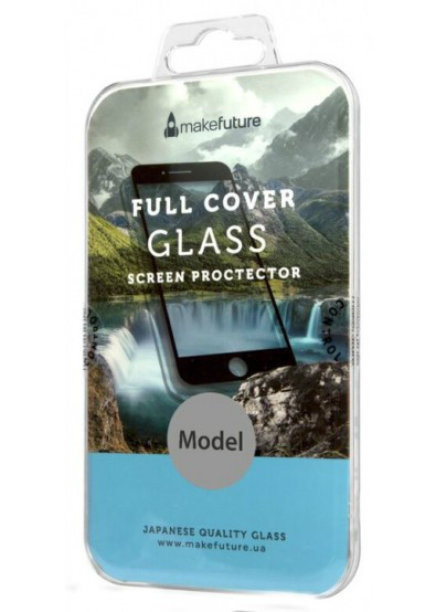 Защитное стекло для телефона MakeFuture 3D Apple iPhone 7 Black (MG3D-AI7B)