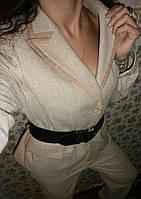 Брючный теплый костюм шерсть