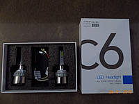 Автомобильные светодиодные лампы (LED Headligt) ламп Н1  36W 6000 K (производство LED, Китай)