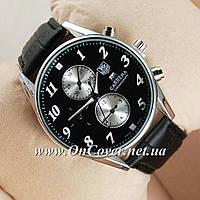 Наручные кварцевые часы Tag Heuer Grand Carrera Silver/Black