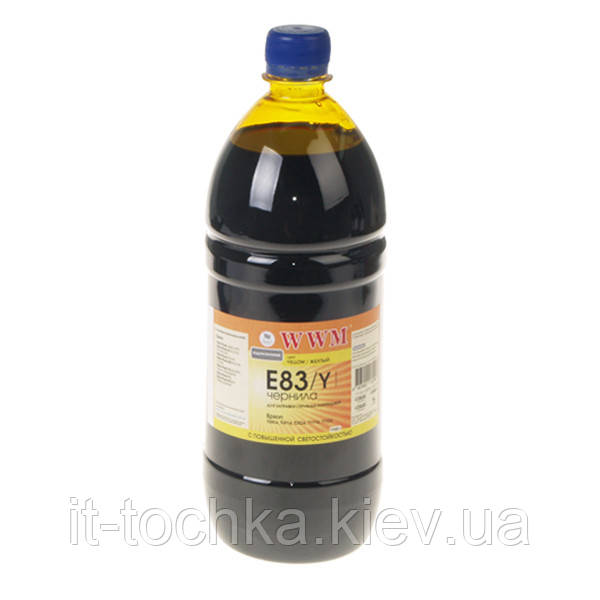 Чернила wwm для epson stylus photo t50/p50/px660 1000г yellow Водорастворимые (e83/y-4) светостойкие