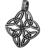 Триединство / Кельтский Амулет / Серебрение /    Символ   совершенства, спокойствия и духовного роста. 3x2 см