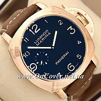 Наручные часы Panerai Officine Mechanic Gold\Blue - Brown