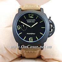 Наручные механические часы Panerai Officine Black/Black-green