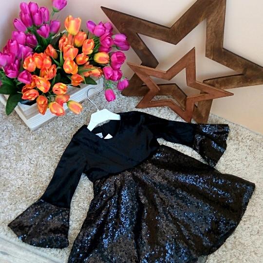 Платье бархатное Турция Оптом и в розницу от Sirin Girls 1-6 лет
