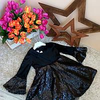 Платье бархатное Турция Оптом и в розницу от Sirin Girls 1-6 лет , фото 1