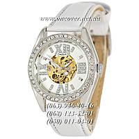Женские Наручные часы Omega Diamonds White-Silver
