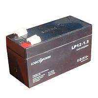 Гелевый аккумулятор LOGICPOWER LP 12 - 1.3 AH