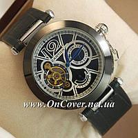 Наручные механические часы Cartier de cartier Silver/Black-white