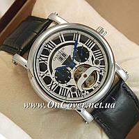 Наручные механические часы Cartier calibre de cartier Silver/Black-white