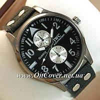 Наручные часы IWC Schaffhausen Black/Black Silver/Black