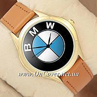 Наручные часы BMW Logo Gold/Brown