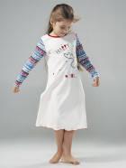 """Ночная сорочка для девочки """"Сюрприз"""" светится в темноте (104362, 104623, 104624), Smil (Смил)."""