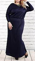 """ПП Украина Красивое  платье   большого и маленького размера """"Мишель """" от 46 до 74 размер"""