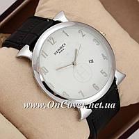 Часы наручные кварцевые Hermes Vintage BlackSilverWhite