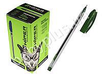 Ручка масл. Perfecto, 0.7мм, цве зеленый, (1200 м) Цена за 1 шт.
