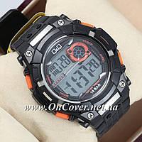 Часы спортивные наручные Q&Q m125j003y