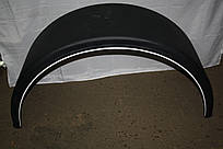 Крыло универсальное на прицеп 45*210 с белой полосой