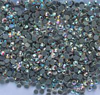 Стразы DMC, Сrystal AB (хамелеон) SS10 со светлым клеем, термоклеевые. Цена за 144шт