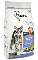 Бонус 15% 1st Choice Kitten Healthy Start (Фёст Чойс Киттен) корм для котят, 10 кг.