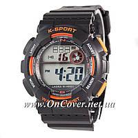 Наручные часы Lasika W-H9001 Black/Orange