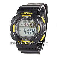 Наручные часы Lasika W-H9001 Black/Yelloy
