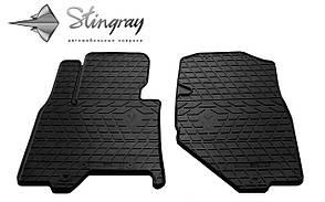 INFINITI QX50 2013- Комплект из 2-х ковриков Черный в салон. Доставка по всей Украине. Оплата при получе
