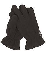 """Перчатки флисовые """"Thinsulate"""" - Чёрный (Black)"""