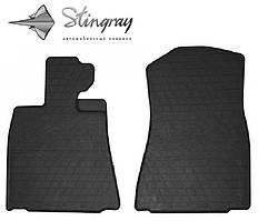 LEXUS IS 2013- Комплект из 2-х ковриков Черный в салон. Доставка по всей Украине. Оплата при получении