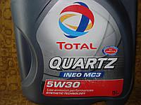 Моторное масло Total Quartz Ineo MC3 5W-30 5л.
