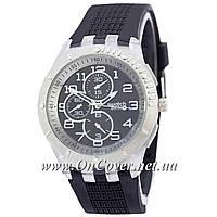 Наручные часы Swatch Silver-Black-Black